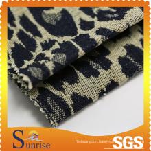 Cotton Spandex Slub Denim Jacquard Fabric (SRSCSP 1844)