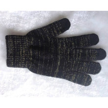 Promotion Knitted Acrylic Warm Magic Touch Screen Gants / Mitaines