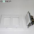 125V 15A receptáculo eléctrico estándar gfci placa de cubierta de salida