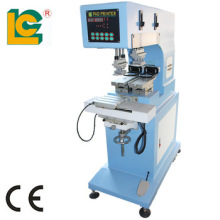 High speed pneumatic tagless/pen pad printing machine