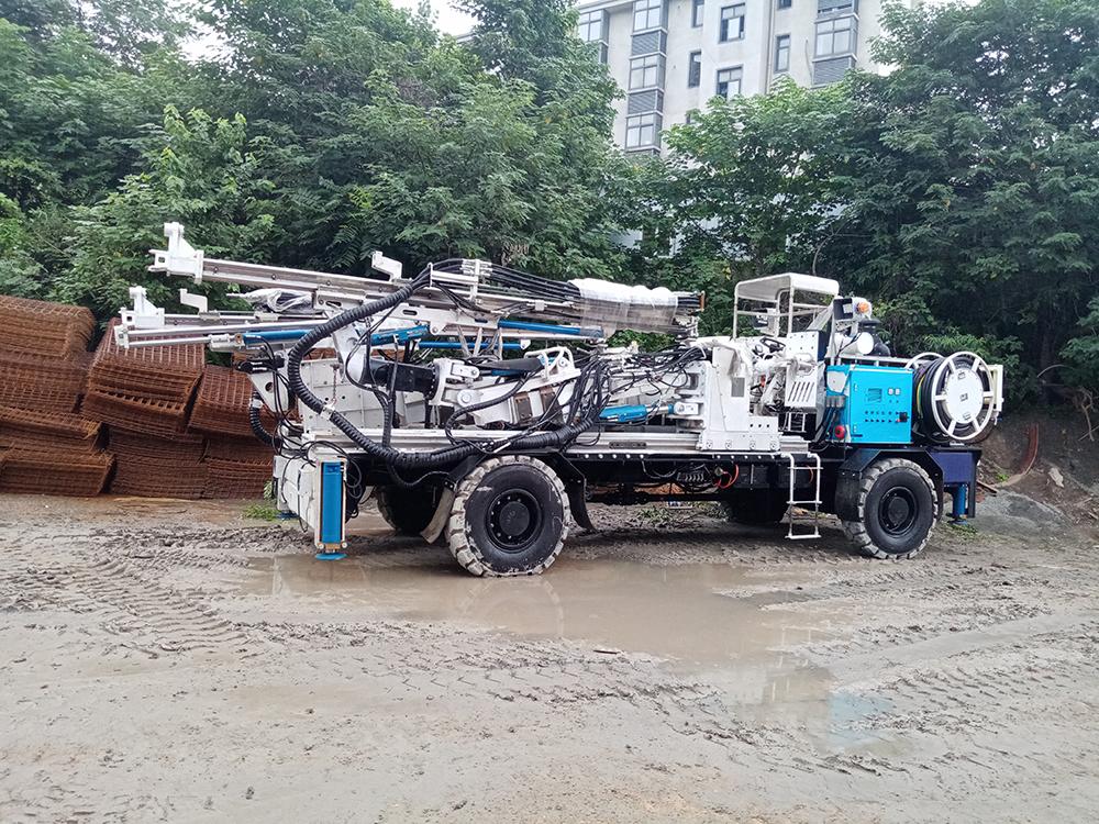 Water Well hydraulic Drill Rig