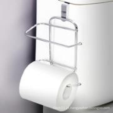 Over-The-Tank Papel higiênico Tissue Hanging Metal 2-Roll Reserve Holder