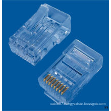 CE, RoHS Approved CAT6 RJ45 Connector