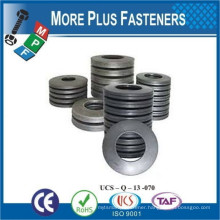 Made in Taiwan Stainless Steel Black Belleville Making Machine Spring Washer