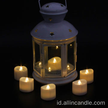 Lampu lilin LED lampu timer lilin flameless