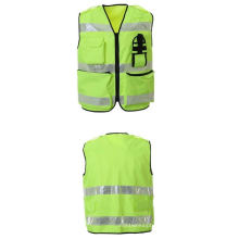 Traffic Safety Vest, Made of Polyester Oxford Waterproof