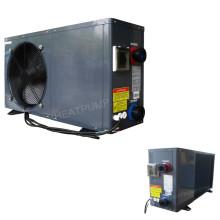 Refrigerador de aço da bomba de calor da associação da cor cinzenta