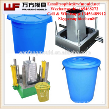 Injection Dustbin mould made in China/OEM Custom injection Dustbin mold with wheel