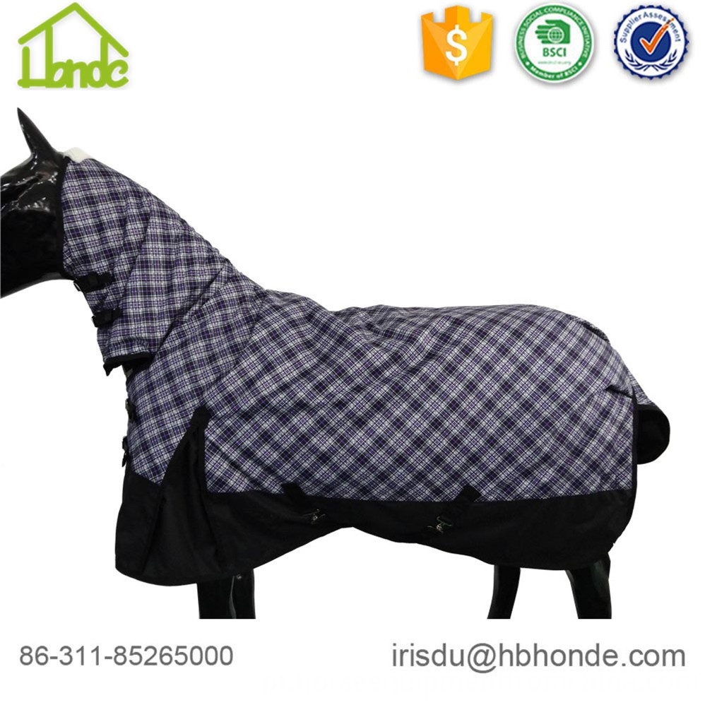 two tone horse rug
