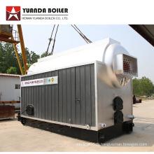 Chaudière à vapeur de charbon 6 t / h pour usine textile