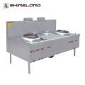 K400 Calentadores de cocina y 2 quemadores Gas Wok Range