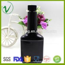 250 ml de bouteilles en plastique à base de lubrifiant à huile industrielle PET avec bouchon en caoutchouc