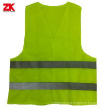 Chalecos de seguridad reflectantes amarillos de bajo precio