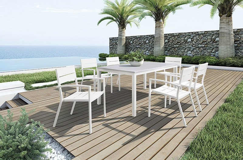 Aluminum Dining Furniture