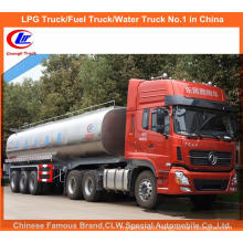 35000 Liters Milk Truck Tanker Trailer 40t Farm Milk Trailer