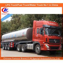 35000 litros de reboque do leite da exploração agrícola 40t do reboque do petroleiro do caminhão do leite