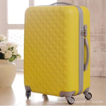 АБС Жесткий чехол Пластиковые путешествия мешки багажа вагонетки