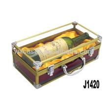Новое прибытие! одна бутылка вина алюминия упаковки Пзготовителей