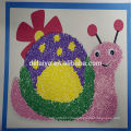 2014 new design EVA Foam craft rducational toys for kids such as snail