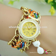CBRL factory price exw colorful latest hand watch for girl