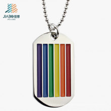 Supply From China Wholesale Steel Colorful Metal Enamel Dog Tag