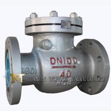 Válvula de retención oscilante (H44H-40)