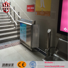inclined wheelchair lift /power lift up seat wheelchair/disabled assistant disabled lift wheelchait lift