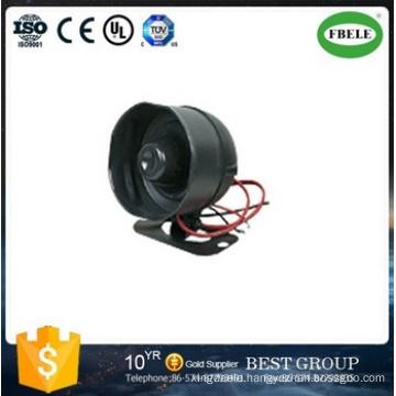 Warning Siren Horn Alarm Warning Siren Horn Siren Horn 12V DC Black (FBELE)