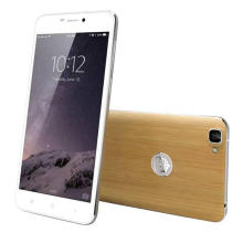 5.5 Inch 4G Quad Core Mobile Phone/Android Phone/Smart Phone Wtih Bamboo Back Cover