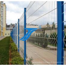 Barrière de deux bords de fil, barrière de sécurité
