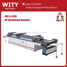 Semi automatic UV varnishing machine