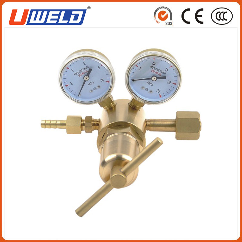 Single Stage High Pressure Regulators with Two Gauges