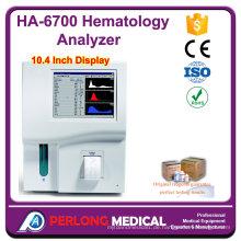 10.4 Zoll meistverkauften China billig Hämatologie Blut-Analysegerät