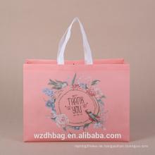 Meistverkaufte Mode-Tasche Eco-Friendly Handled Non Woven Tasche Tuch Einkaufstasche