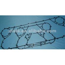 Junta de intercambiador de calor de placa NBR relacionada con Alfa laval TS6, junta de intercambiador de calor TS6 igualmente