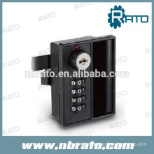 RD-125 black combination locks for cabinets