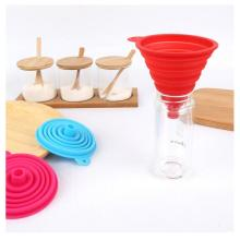 FDA Silicone Rubber Collapsible Oil Funnel