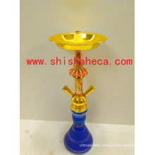 New Design Top Quality Wholesale Zinc Alloy Nargile Smoking Pipe Shisha Hookah