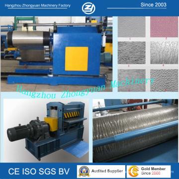 Tree Bark Pattern Steel Pressing Machine