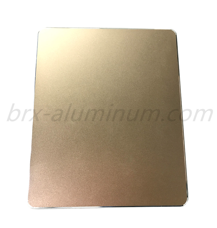 Aluminum alloy sheet in Champagne