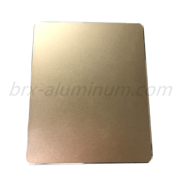 Anodized Aluminum Sheet in Champagne