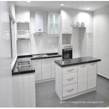 Cuisine moderne Cabinets de cuisine en bois massif standard américain