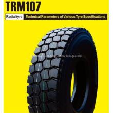 Pneu de camion Rockstar 11R22.5 en acier et pneu de remorque