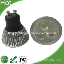 3X2w AC85-265V GU10 Spot Light