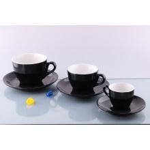 Taza y platillo de la porcelana Acf (CZJM2131)