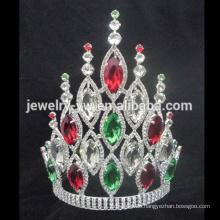 Großhandel Große große AB-Kristall-T-Shirt Krone für Frauen
