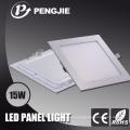 Die Casting Aluminum 15W Square LED Panel Light