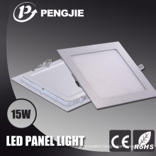 Die Casting Aluminum 15W Square LED Panel Light