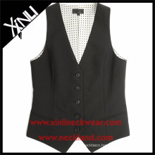 China Factory Fashion Formal Suit Vest Waistcoat for Women