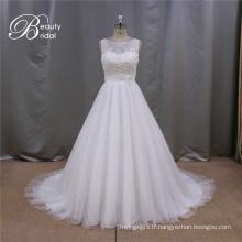 A-Line Chine robe de mariée sur mesure
